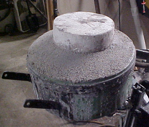 another view of refractory in the top lid